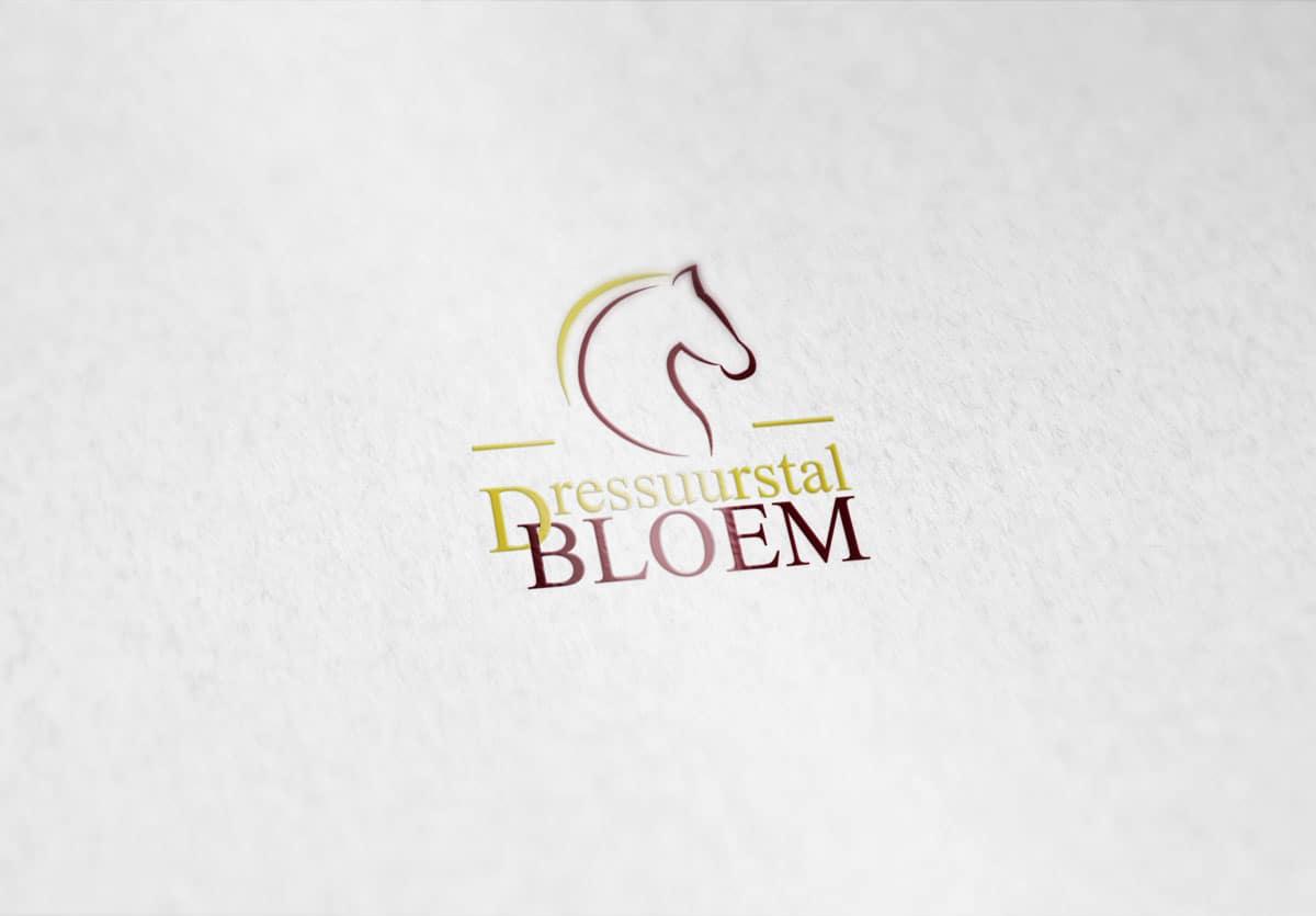 Dressuurstal Bloem logo