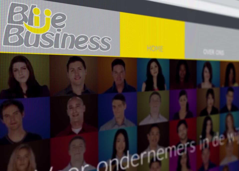 Blije Business website
