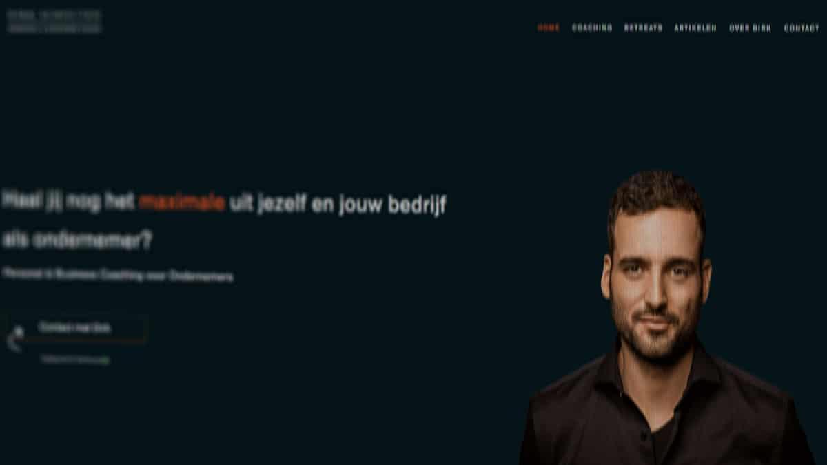 Dirk Schouten website