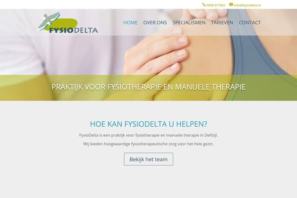 Website FysioDelta