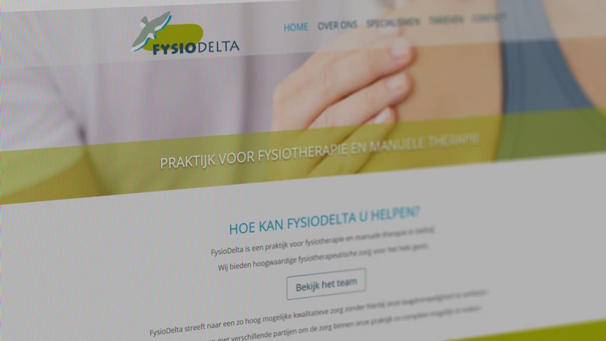 Fysiodelta website