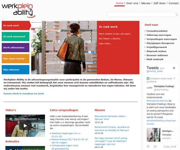 Werkplein Noord-Groningen resultaat